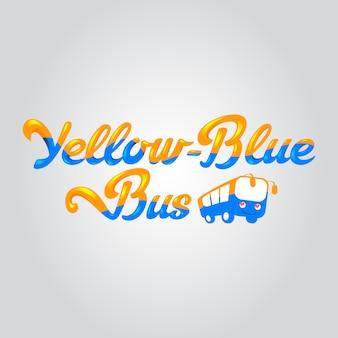Bus achtergrond ontwerp