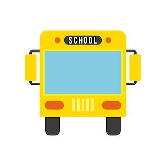 Bus concept geïsoleerd ontwerp