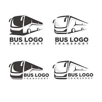 Bus logo sjabloon