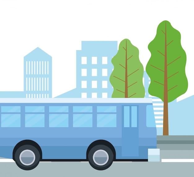 Bus op straat