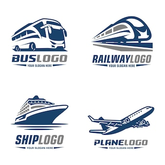 Bus trein vliegtuig cruise