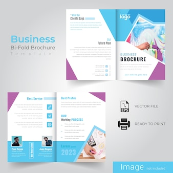 Business bi vouw brochure