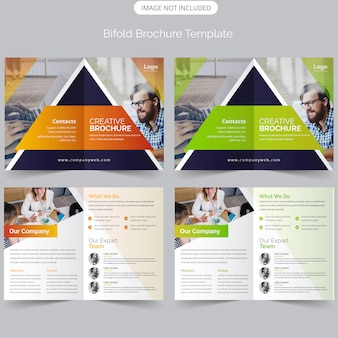 Business bifold-brochure
