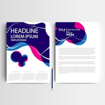 Business brochure sjabloon