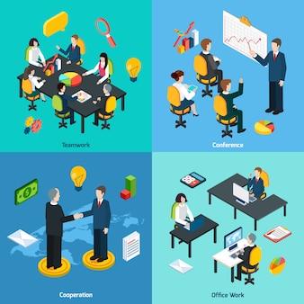 Business concept tekens