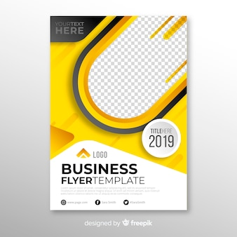 Business flyer concept