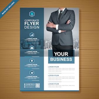 Business flyer ontwerpsjabloon