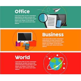 Business graphs en technolgy elements