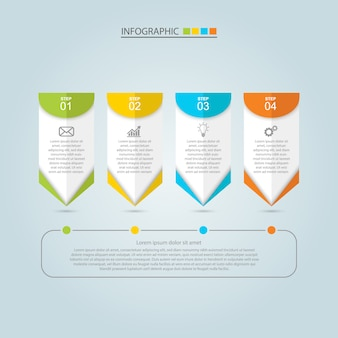 Business infographic ontwerp