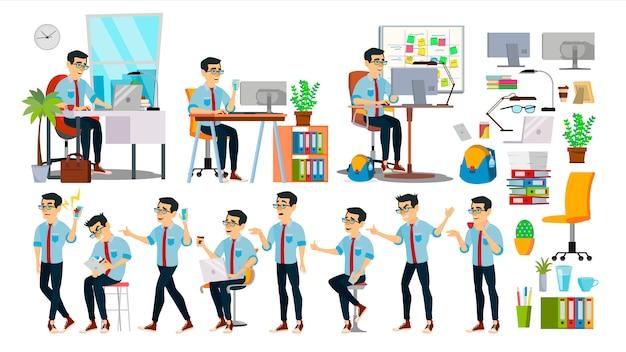 Business man karakter