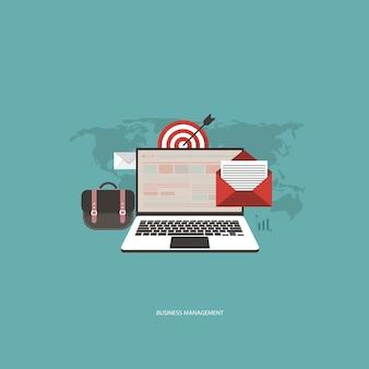 Business management-concept