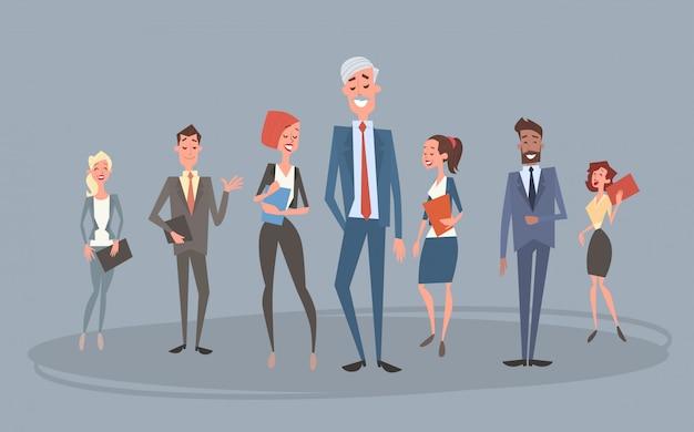Business people group team personeelszaken collega's