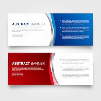 Business web-bannerontwerp