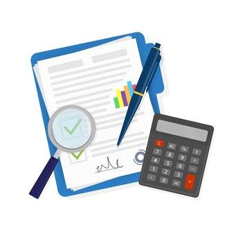 Businessplan illustratie