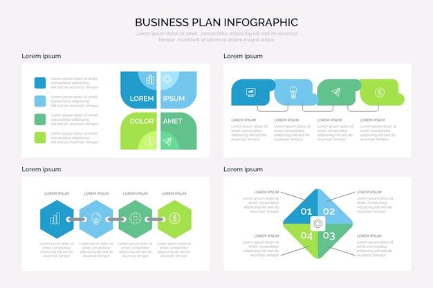 Businessplan infographic