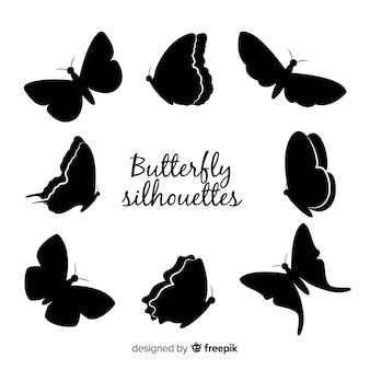 Butterfly silhouet pack