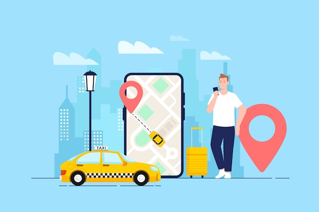 Cab app-concept