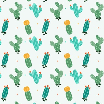 Cactus mix patroon sjabloon