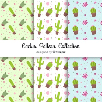 Cactus patroon collectie