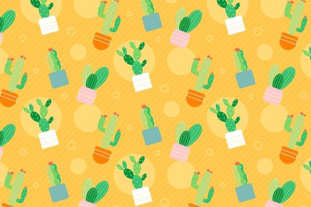 Cactus patroon collectie
