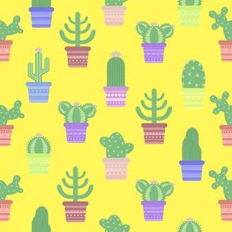 Cactus patroon ontwerp