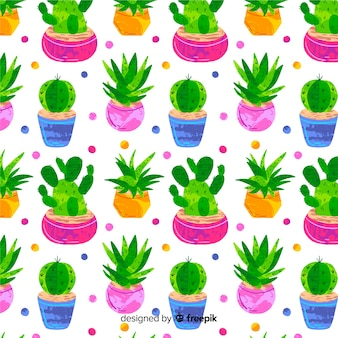 Cactus patroon
