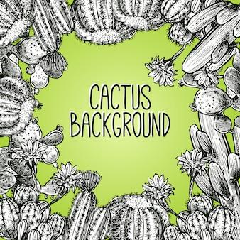 Cactus schets frame