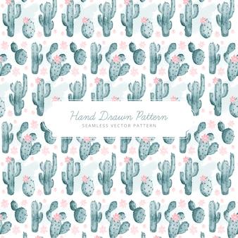 Cactuspatroon ontwerp