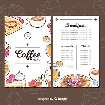 Cafetaria-menu
