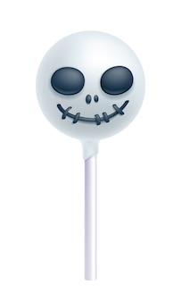 Cakepop met halloween-thema