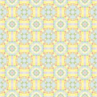 Caleidoscoop achtergrond. abstract geometrisch laag poly patroon. driehoek lichte achtergrond. driehoek geometrische elementen. abstracte driehoekige achtergrond. naadloze geometrische caleidoscoop.