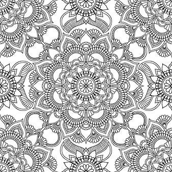 Caleidoscoop patroon