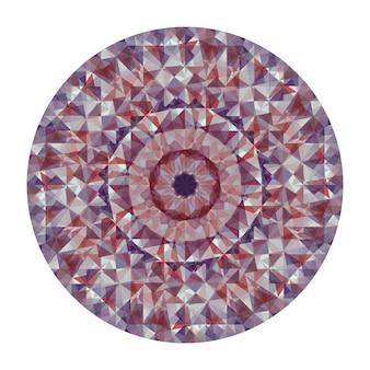 Caleidoscoop vector achtergrond. abstracte geometrische laag poly patroon. driehoek lichte achtergrond. driehoek geometrische elementen. abstracte driehoekige achtergrond. vector geometrische caleidoscoop.