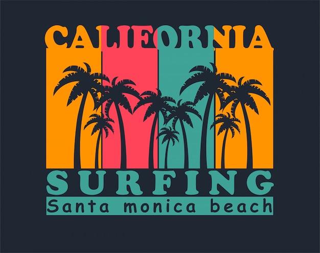 Californië vintage illustratie