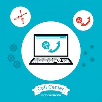 Call center computertechnologie online