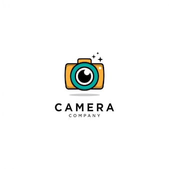 Camera logo sjabloon