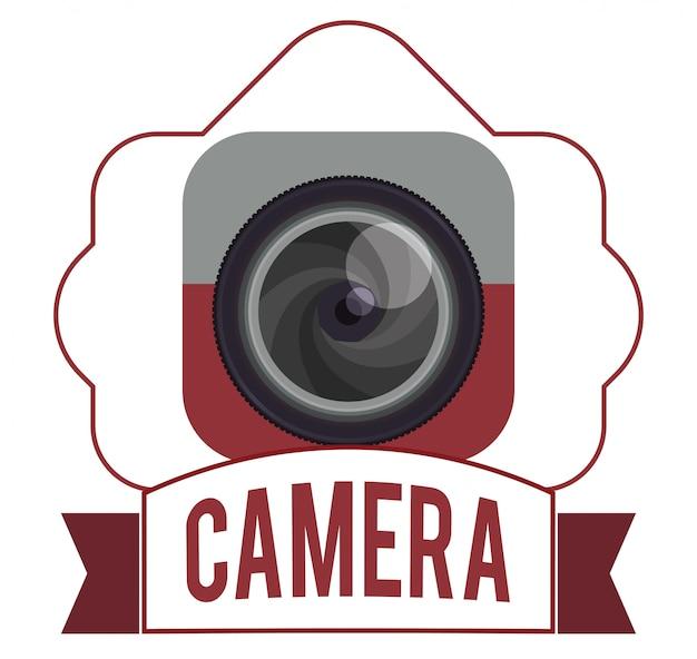 Camera pictogram ontwerp