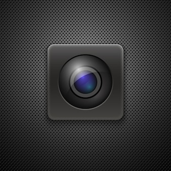 Cameralens pictogram