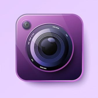 Camerapictogram voor app