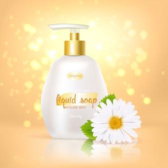Cammomile zeep achtergrond