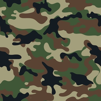 Camouflage naadloos patroon. vector illustratie