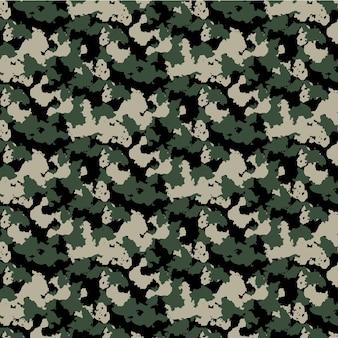 Camouflage naadloze patroon achtergrond