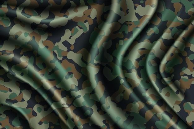 Camouflage naadloze patroon bos textuur kleding stijl camo print