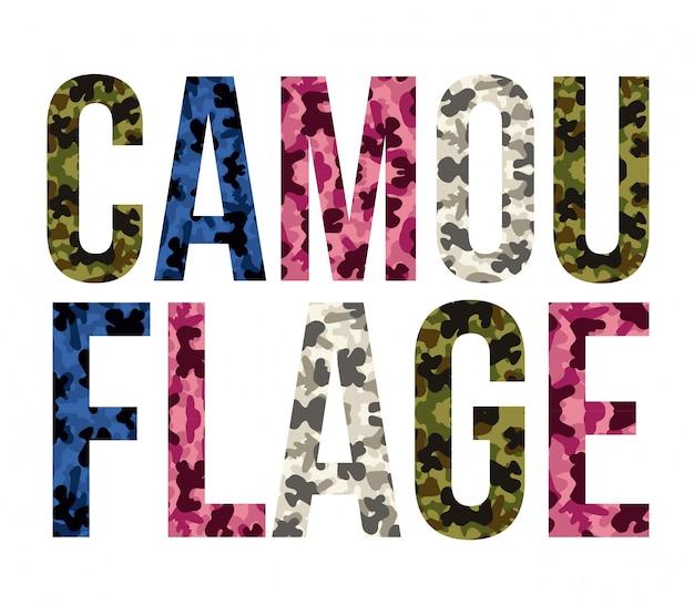 Camouflage ontwerp