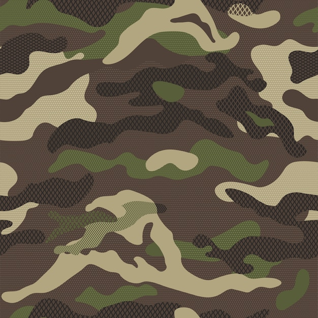 Camouflage patroon