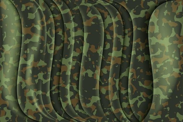 Camouflage soldaat naadloze patroon militaire textuur op textiel design