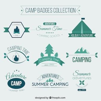 Camp badges collectie