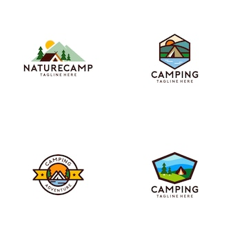 Camp logo-collectie