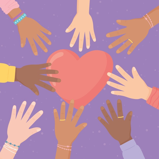 Campagne tegen rassendiscriminatie
