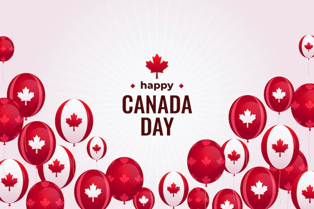 Canada dag achtergrond